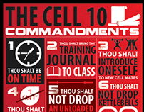 THE CELL CROSSFIT - 10 COMMANDMENTS