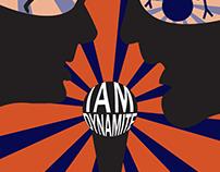IAMDYNAMITE Band Poster