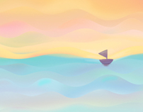 Barco de colores