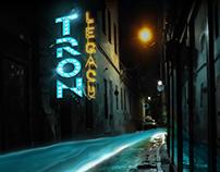 TRON: Legacy Noir Poster