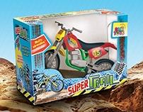 Embalagem Brinquedo Moto Super Trail
