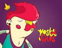 Mostachos - Personajes cómic