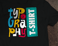 t-shirt TYPOGRAPHY