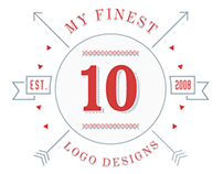 10 of my finest Logo Designs