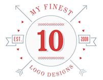 10 of my finest Logo Designs