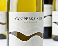 Coopers Creek Vineyard Brand Development