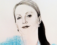 PORTRAIT OF JULIANNE MOORE (II)