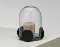 Vehicle of love - candle holder- Designerbox