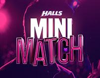 Categoria Estudante Clube de Criação - HALLS MiniMatch