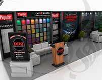 Popular Pipe Exhibition Stall Design