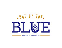 OUT OF THE BLUE BRANDING