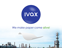 IVAX Paper Chemical Brochure Design