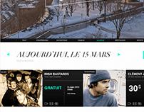 Quoi Faire À Québec - Web Design