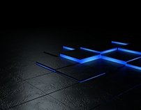 Glowing Motion Tiles Project
