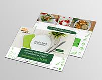 Food Flyer Catalog for Fiverr