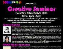 Poster Design: SOOGI Creative Seminar