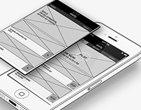 Wireframing - Car Daily App