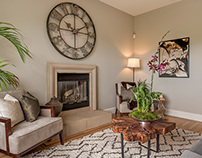 Transitional, Arts and Crafts Style, Full Home Staging