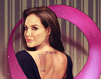 Angelina Jolie: Breast Cancer awareness