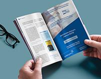 Anúncio impresso - layout e diagramação