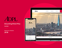 Acounting Direct Plus Responsive Website