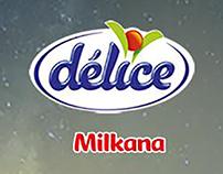 Habillage Page Facebook  Délice Milkana