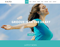 Altea | Parallax One Page HTML5 Template