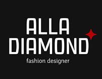 Логотип для Alla Diamond