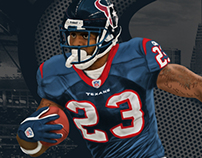 Arian Foster Poster
