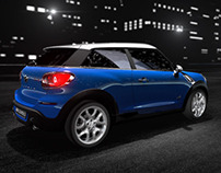 MINI Paceman for Wired Magazine