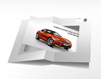 BMW Z4 Invitation Card