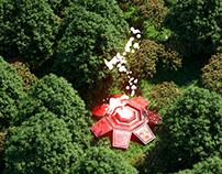 Forest Sci-Fi scene