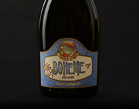Boheme - Brasseria Alpina - Beer Labels