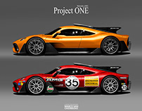 Mercedes-AMG Project ONE Tributes & Custom Liveries