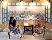 【展覽】竹東鎮三街道窗景:空間x平面x插畫 Zhudong Township Street Scenery