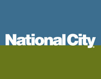 National City Bank POS and Outdoor Banners