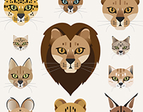 Illustration: African Cats