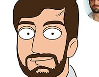 Family Guy Style Cartoon Portraits