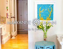 Maryanne Quinn Website and Logo Design
