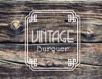 Vintage Burguer Identity