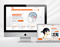 Emotivo Homepage Concept