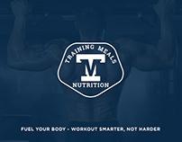Training Meals - Logo, Labels, Website