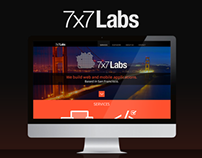 7x7Labs.com Website Design