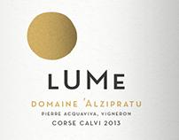 Domaine Alzipratu Wine Label