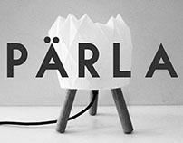 PÄRLA - a Scandinavian Origami Lamp