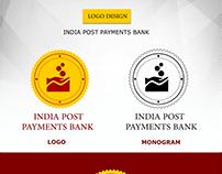 India Post Payments Bank logo design