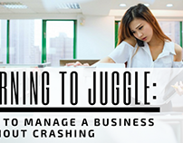 Learning to Juggle: How to Manage a Business