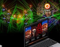 Q-Dance Site ReDesign