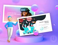 VR Modern Tech Presentation Template