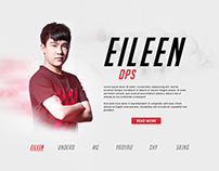 Shanghai Dragons - Web Design